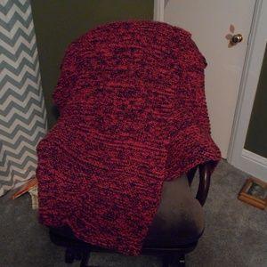 Other - Handmade Plush Crochet Lap Blanket